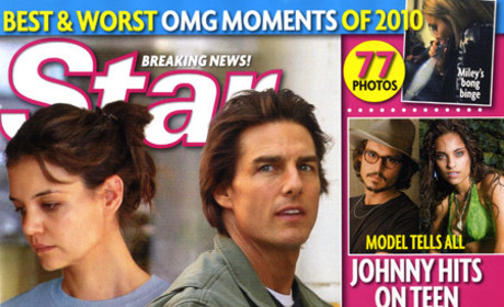 Katie Holmes & Tom Cruise: (Not Really) Separated!
