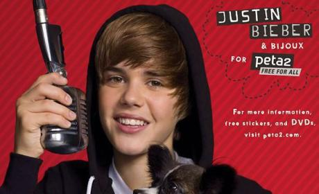 Justin Bieber Loves Animals