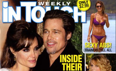 Angelina Jolie and Brad Pitt Get Married!