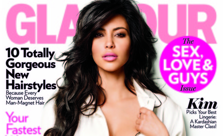 Kim for Glamour