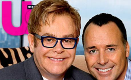 Elton John, David Furnish Debut Baby Son!