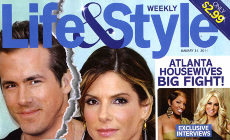Sandra Bullock and Ryan Reynolds: It's Over!
