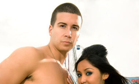 Vinny and Snooki Pic