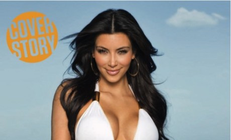 Kim Kardashian in a Bathing Suit
