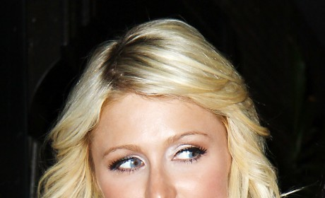 Paris Hilton Head Shot