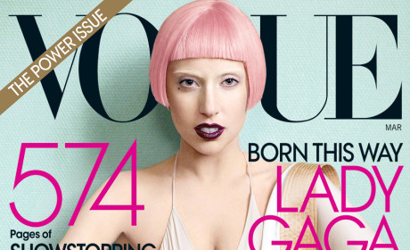 Lady Gaga Covers Vogue, Praises Family