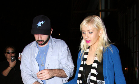 Christina Aguilera, Jordan Bratman Picture