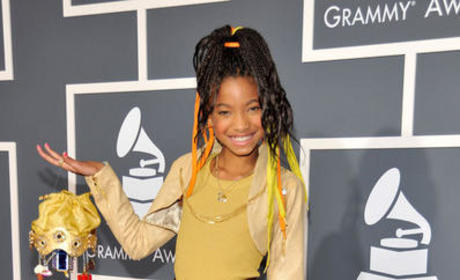 Willow Smith at the Grammys