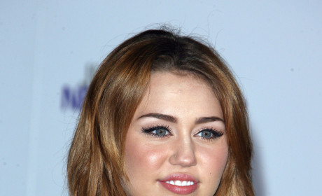 Miley at a Premiere