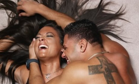 Ronnie and Sammi on Jersey Shore