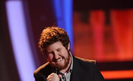 Casey Abrams on Stage