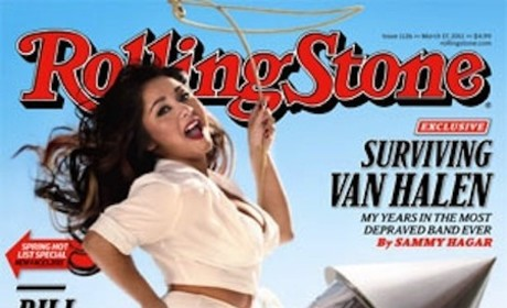 Freaking Snooki Rides Rocket in Rolling Stone