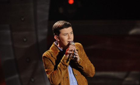 Scotty McCreery on Stage