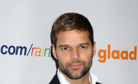 Ricky Martin Picks Up GLAAD Award, Yearns to Spread Message of Love