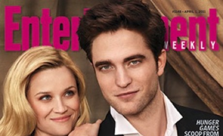 Robert Pattinson EW Cover