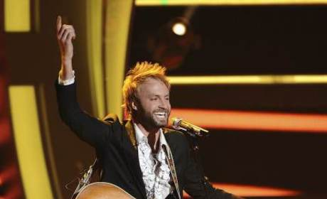 Paul McDonald on Idol