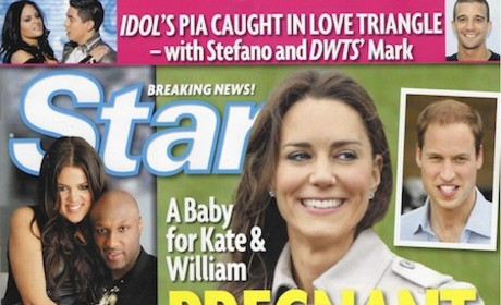 Kate Middleton: Pregnant Bride!