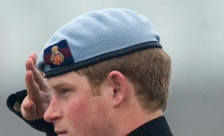 Prince Harry Earns a Military Promotion