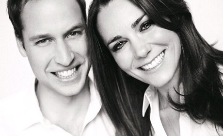 Prince William and Kate Middleton: The Wedding Program Portrait!