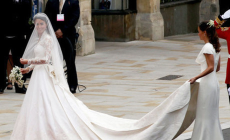 Kate Middleton Wedding Dress Photo