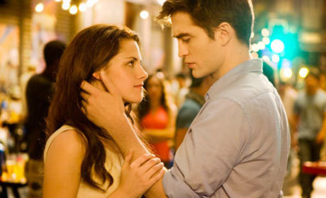 Breaking Dawn Pictures Galore: A Loving Look, A Waterfall Embrace & More