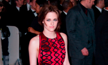 Kristen Stewart at the MET
