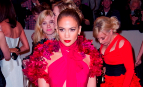 J. Lo at the MET Costume Gala