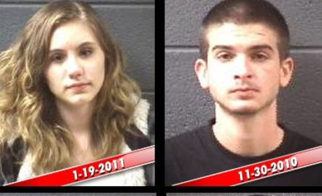 16 and Pregnant Stars Jamie McKay and Ryan McElrath: Lots of Arrests!