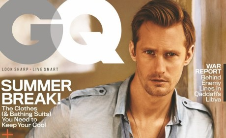 Alexander Skarsgard in GQ: Looking Hot, Talking Hollywood