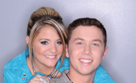 Lauren Alaina and Scotty McCreery
