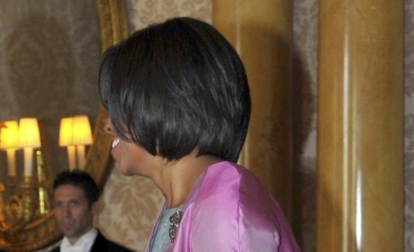 Michelle Obama in the UK