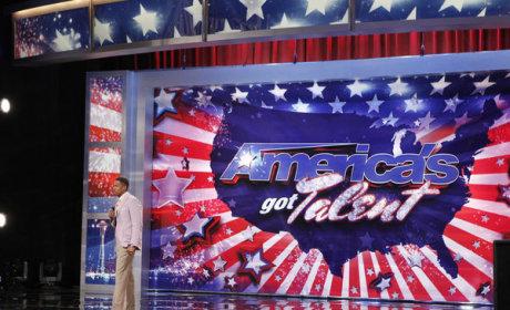 Nick Cannon on America's Got Talent