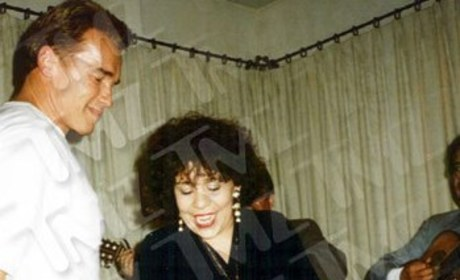 "Arnold Schwarzenegger, Mildred ""Patty"" Baena"