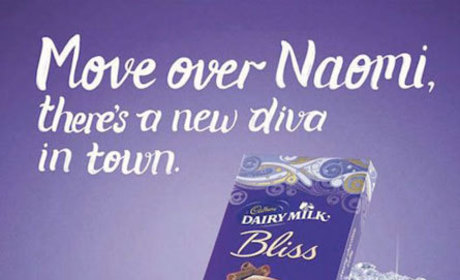 Naomi Campbell Cries Racism Over Cadbury Chocolate Ad