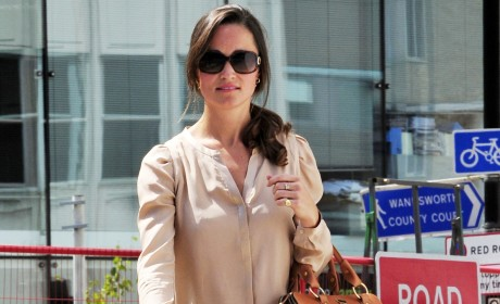 Pippa Middleton Fashion Watch: Lovely in London!