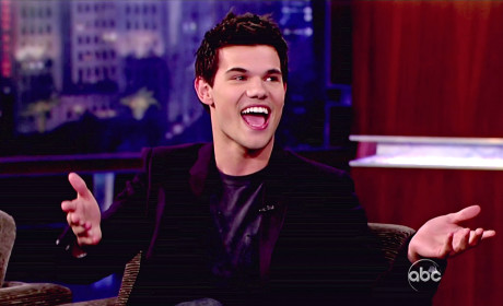 Taylor Lautner Interview Photo