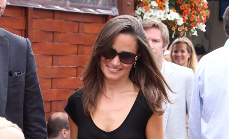 "Pippa Middleton Loses ""Rear of the Year"" Competition to Carol Vorderman"