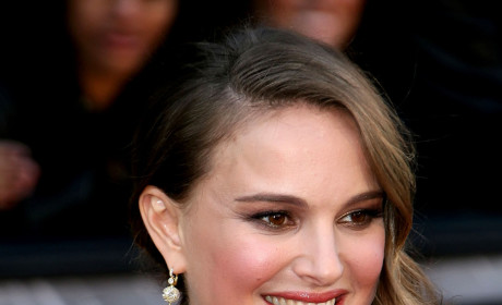 Natalie Portman at the Academy Awards