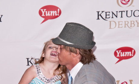 Larry Birkhead and Dannielynn: Taking It Easy