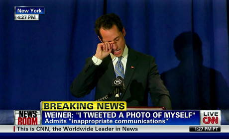 Anthony Weiner Takes Leave of Absence from Congress, Seeks Professional Help