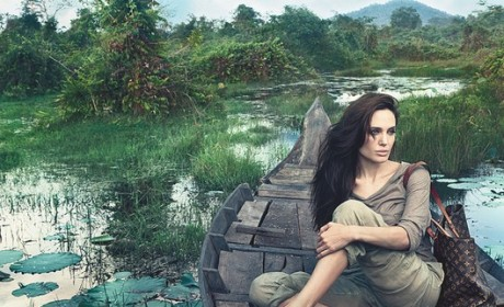 Angelina Jolie Louis Vuitton Ad: A Moment of Zen