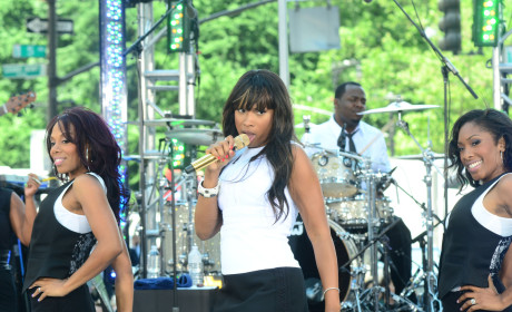 Jennifer Hudson on Stage