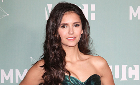 Nina Dobrev on the Red Carpet