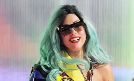Colorful Lady Gaga