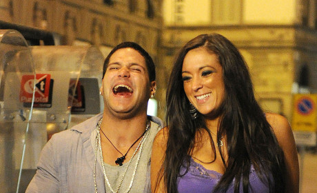 Sammi Giancola and Ronnie Magro Photo