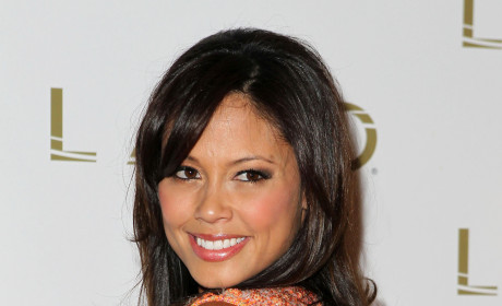 Vanessa Minnillo Serenaded By Mini-Nick Lachey at Bachelorette Party
