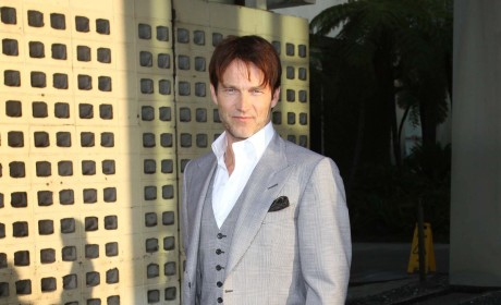 Stephen Moyer Premiere Party Pic