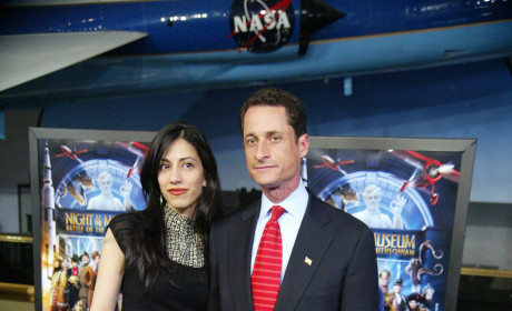 Anthony Weiner and Huma Abedin: The Awkward Lunch Date