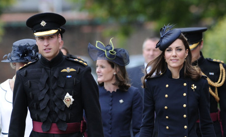 Prince William, Kate Middleton Honor UK Troops