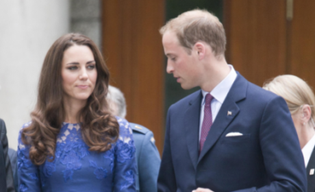 Kate Middleton, Prince William Greeted By Huge Crowds in Canada